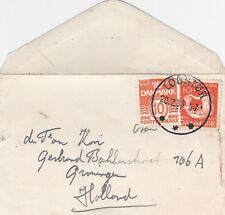 Cover Denmark Logstor 1935 with card