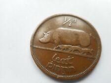 1940 Irish/Ireland Pre-Decimal Half Penny Coin