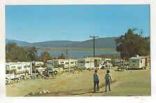 Lake Henshaw, SANTA YSABEL CA Camper RV Trailer Park Campground Vintage Postcard