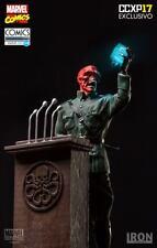 Iron Studios Red Skull 1/10 CCXP Exclusive + Captain America 1/10 Exclusive