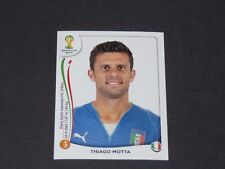 325 THIAGO MOTTA PARIS PSG ITALIA PANINI FOOTBALL FIFA WORLD CUP 2014 BRASIL