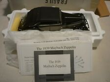 A Franklin mint scale model of a 1939 Maybach Zeppelin, boxed, paperwork