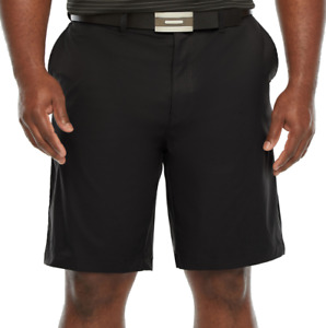 Foundry Cotton Blnd Signatiure Navy Flex Waist  Flat Front Shorts SR$40 NEW