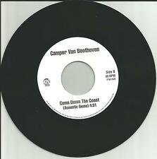 Cracker CAMPER VAN BEETHOVEN Come Down Coast ACOUSTIC DEMO PROMO  7 INCH Vinyl