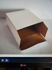"Reverse Tuck End (Rte) Cardboard Box White 5.5"" x 2 5/8"" x 6.25"" 375 Per Case"