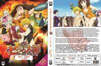 The Seven Deadly Sins (Vol.1 - 24 End + 2 OVA) ~ All Region ~ English Version ~
