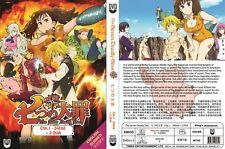 The Seven Deadly Sins (Chapter 1 - 24 End + 2 OVA) ~ 2-DVD SET ~ English Version