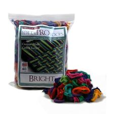 """Harrisis 10 """"Pro Bright Lotta Loops En Varios Colores A """"Hace 8 Potholders"""