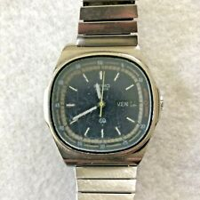 Vintage Men's Seiko Stainless Steel Watch 7559-500A For Repair NOT working