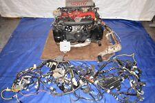 JDM Subaru Forester SG9 STi 2.5L EJ255 Complete Turbo Engine Wiring Ecu Tmic