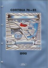 FORD CORTINA MK4/5 SALOON & ESTATE '76- FACTORY BODY PANELS PICTORIAL PARTS LIST