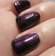 NEW! FingerPaints Nail Polish JUST PLUM FUN ~ VAMPY PURPLE SHIMMER