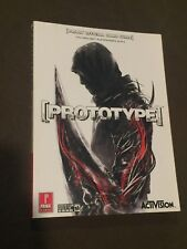 Prima Prototype Official Strategy Video Game Guide xBox 360 PS3 PC