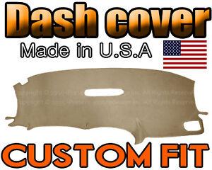 fits 2001-2007   DODGE CARAVAN  DASH COVER MAT DASHBOARD PAD / BEIGE