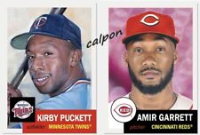 2021 Topps Living Set Bundle #405 Kirby Puckett #406 Amir Garrett -Bubble Mailer
