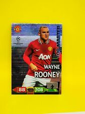 Adrenalyn XL UEFA Champions League 2011/12 Wayne Rooney Top Master Panini Card