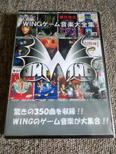 CD WING Game Music Complete Works StudioWING MC01F 2003 MSX NEC PC-88 Sharp X1