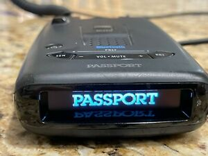 Escort Passport Radar Detector with Bluetooth