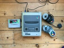 Super Nintendo Console with x2 Controllers and Zombies Game ( UK / PAL)