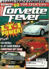 December 1996 Corvette Fever Rare 1971 ZR-1 Wildest 1957 Corvette Last C4