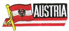 Sidekick Aufnäher Österreich Patch Flagge Fahne
