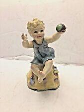 Vintage Royal Worcester Porcelain Figurine Child Born on the Sabbath #3256