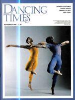 DANCING TIMES MAGAZINE 1988 NOV P LIBURD KENNETH THARP CYNTHIA HARVEY