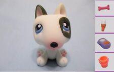 Littlest Pet Shop Black & White BULL TERRIER No # Diary+1 FREE Access 100% Authe