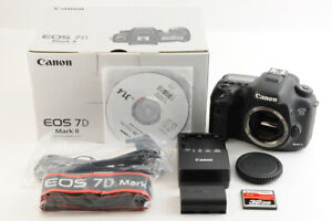 【TOP MINT 41k Shot】CANON EOS 7D Mark II 20.2MP DSLR Camera Body + 32G CF BOX JP