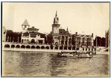 France, Paris, Pavillon de la Bosnie Herzégovine et de la Hongrie  Vintage citra