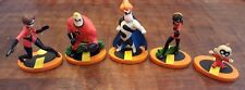 New listing Disney Pixar The Incredibles Cake Toppers Lot of 5