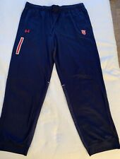 ST JOHN'S RED STORM UNDER ARMOUR TRACK PANT MENS 2XL NY BASKETBALL BIG EAST