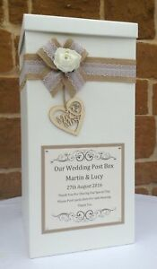 Vintage Wedding Card Post Box, Wedding Favours, Table Centrepieces, Wishing Well