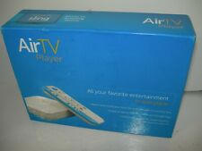 AirTV Player Media Streamer Package + AirTV Dual-Tuner OTA Adapter, 4K, Sling