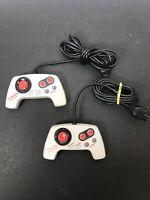 Nintendo NES Max Controller NES-027 Lot of 2 Authentic Original OEM VGC