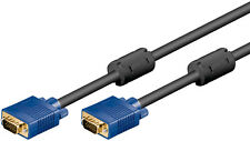 Full HD SVGA Monitorkabel 15 pol. HD Stecker > 15 pol. HD Stecker 5 m