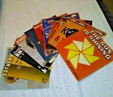 lot de 10 disques vinyle 45 tours disco, funk, pop, soul RARE !!! A VOIR !!!