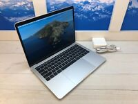 "Apple MacBook Pro 2 USB-C 2016 13"" Laptop 256GB SSD 2GHz 8GB RAM Silver 2 cycles"