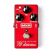 MXR M78 CUSTOM BADASS 78 DISTORTION Guitar Effect Pedal