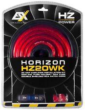 ESX HZ20WK 20mm ² Coche Hifi de Cable Energía Set para Amplificador Amp