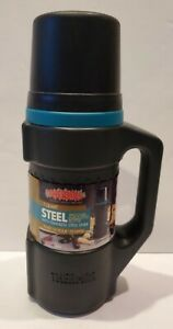 THERMOS 1 Qt Stainless Steel Liner Vacuum Insulated Hot Cold Drink NEW 1992 VTG