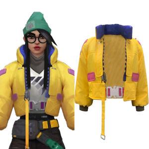 Valorant Killjoy Cosplay Costume Coat Bag Halloween Outfit Jakcet