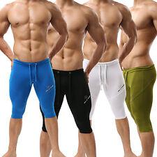 New Sexy Mens Swimwear Trunks Fitness Sports Boxer Shorts Racing Training S M L