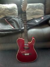 More details for fender telecoustic dlx electro-accoustic 6 string guitar - deluxe model