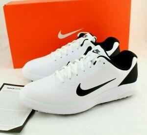 New NIKE Infinity G Size 8.5 W White / Black Men's Golf Sneaker Shoes CT0535101