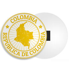 Colombia Map Fridge Magnet - Travel Holiday Bogotá South America Cool Gift #4493
