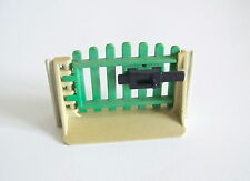 PLAYMOBIL (T22c01) FERME - Petit Portail Complet pour Clôture Vintage 3504 Jauni