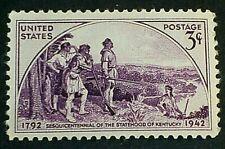 U.S. Scott # 904  Kentucky Statehood  MNH OG VF