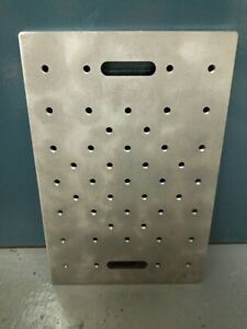 Stainless Steel Jig Fixture Backing Plate With M10 Bolt Holes For Tool Template