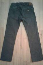 AJ Armani Jeans Jean Homme J45 Regular Fit Grey Cotton 32/34 actual 32/30